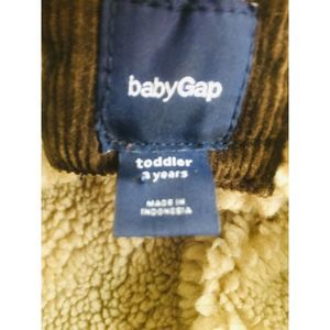 Gap Jackets & Coats - Gap Kids Boys 3 Toddler Brown Corduroy Jacket